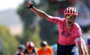 Vuelta: Magnus Cort Nielsen vence 19.ª etapa com Rui Oliveira a ficar em segundo