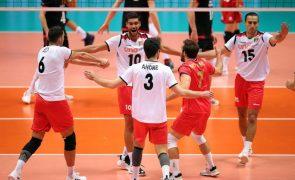 Portugal vence Bélgica e soma primeiros pontos no Europeu de voleibol