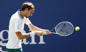 US Open: Medvedev assegura passagem aos oitavos de final