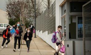 Covid-19: Açores impõem máscara e rastreio de saliva aleatório nas escolas