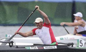 Canoísta Norberto Mourão conquista bronze nos 200 metros VL2 dos Jogos Paralímpicos