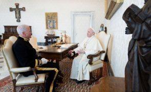 Covid-19: Papa lamenta que tenha semeado desolução, mas acredita que permita construir um mundo melhor