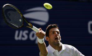 US Open: Djokovic vence Nishikori e segue para os 'oitavos'