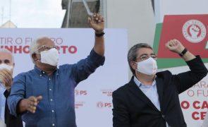 Autárquicas: António Costa diz que é preciso por ponto final à precariedade laboral