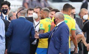 Covid-19: Brasil-Argentina suspenso após intervenção das autoridades sanitárias