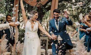Eis as fotos do romântico casamento de Filipa Nascimento e Duarte Gomes