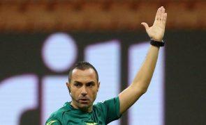 Euro2020: Italiano Marco Guida vai arbitrar Azerbaijão-Portugal