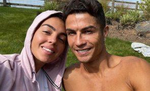 As primeiras imagens de Cristiano Ronaldo em Manchester: