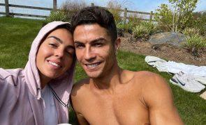 Georgina Rodriguez confessa que com Cristiano