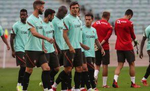 Mundial2022: Portugal com todos disponíveis no último treino no Azerbaijão