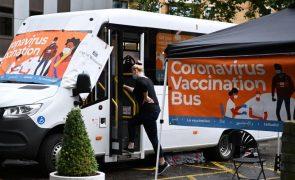 Covid-19: Reino Unido regista 45 mortesnas últimas 24 horas
