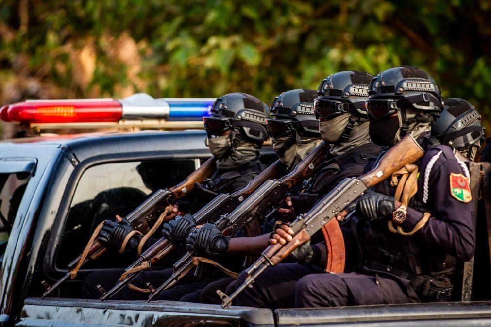 Forças Armadas guineenses em prevenção