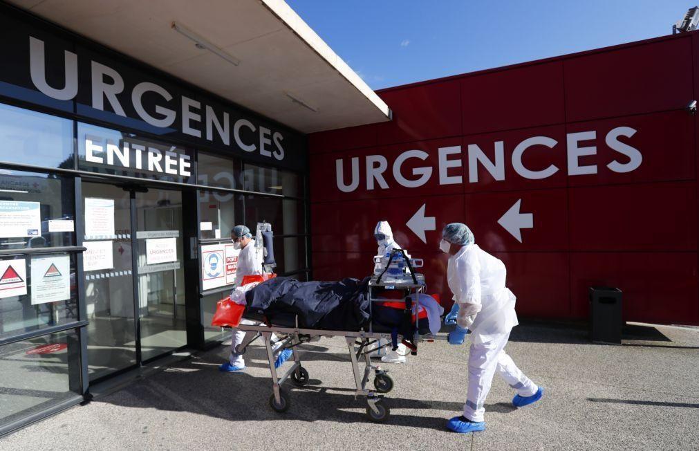 Covid-19: Vírus já matou mais de 115 mil pessoas em França