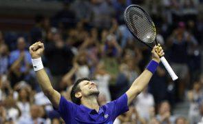 US Open: Djokovic e Berretini 'tremem', mas seguem para os 'quartos'