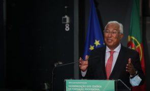 Costa quer que Portugal saia da crise