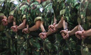 Militares do Exército português partiram para missão da NATO na Roménia