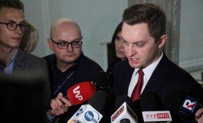 Polónia considera pedido de sanções financeiras uma