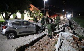 Pelo menos um morto após sismo de 7,1 no sudeste do México