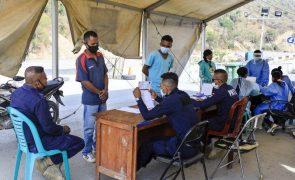 Covid-19: Timor--Leste registou mais uma morte e 158 novos casos nas últimas 24 horas
