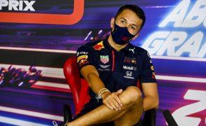 Alexander Albon regressa à F1 em 2022 para representar a Williams