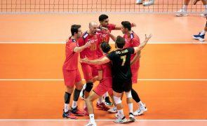 Voleibol/Europeu: Portugal vence a Grécia e apura-se para os oitavos de final