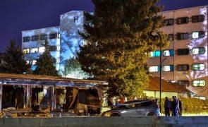 Pelo menos 14 mortos em incêndio numa unidade de tratamento da covid-19 na Macedónia