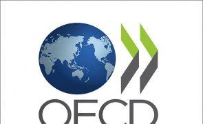 Desemprego na OCDE cai para 6,2% em julho, mas mantém-se acima do nível pré-pandemia