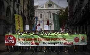 Governo reúne-se com trabalhadores da Saint-Gobain para a semana sobre despedimento -- sindicato
