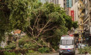 Macau emite alerta de tempestade tropical