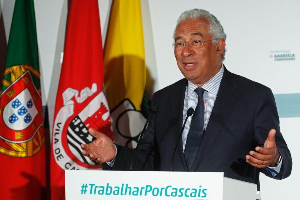 Autárquicas: Costa considera que manutenção do candidato do PSD em Loures
