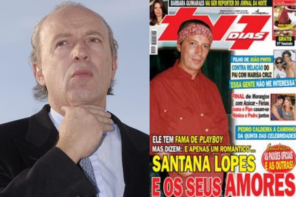 Pedro Santana Lopes e o choradinho que deu em nada
