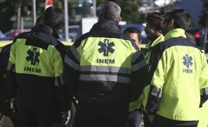 Técnicos de emergência pré-hospitalar do INEM em greve de zelo ao trabalho não urgente