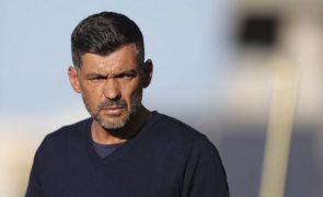 Sérgio Conceição já contou no treino com maioria dos intermacionais do FC Porto