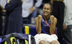 US Open: Canadiana Leylah Fernandez chega à sua primeira final