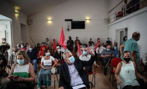 Óbito/Sampaio: Líderes de partidos cancelam ações de pré-campanha dos líderes, PCP mantém
