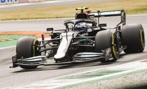 Valtteri Bottas sai na frente na 'sprint race' de Monza
