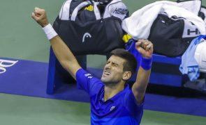 Djokovic na final ao derrotar Zverev por 3-2 no Open dos Estados Unidos