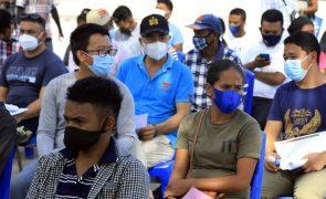 Covid-19: Duas mortes e 74 novos casos em Timor-Leste nas últimas 24 horas