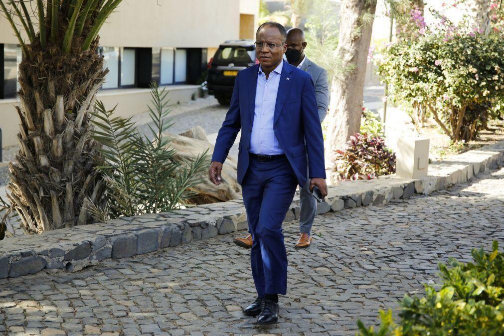 Sampaio: PM de Cabo Verde em Lisboa para representar país nas cerimónias fúnebres