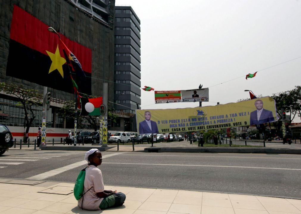 Candidatos fazem 'segunda volta' por Angola na primeira campanha sem 'Zédu'