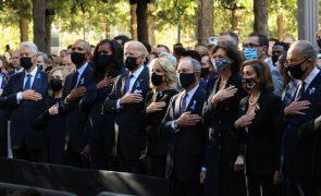 11 de setembro: Minuto de silêncio marca abertura da cerimónia