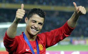 Cristiano Ronaldo é titular na receção do Manchester United ao Newcastle