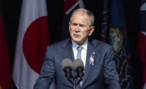 11 de setembro: George W. Bush pede luta contra terroristas internos e externos