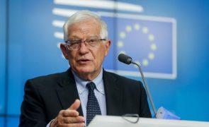 Sampaio: Alto representante Josep Borell lamenta