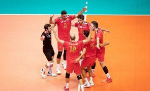 Voleibol/Europeu: Portugal procura histórica chegada aos 'quartos' frente aos Países Baixos