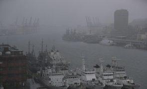 Tufão Chanthu causa fortes perturbações em Taiwan