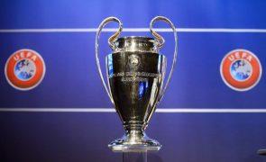 LC: Benfica, FC Porto e Sporting arrancam com testes exigentes