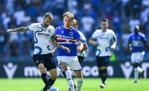 Inter de Milão empata com Sampdoria e falha liderança em Itália