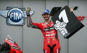 Miguel Oliveira termina GP de Aragão de MotoGP em 14.º, Bagnaia vence