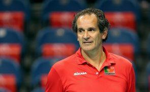 Voleibol/Europeu: Portugal perde com Países Baixos e falha quartos de final